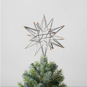 Hearth & Hand™ Silver Moravian Star Tree Topper